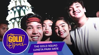 NAG-DATE SA LUNETA ANG GOLD SQUAD | The Gold Squad