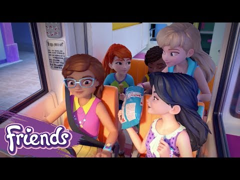 Friends: Girls on a Mission LEGO® TV Show | Episode 1: Road Trip
