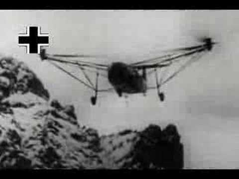 WW2 German / Nazi Helicopters part 1 : Where Eagles Dare