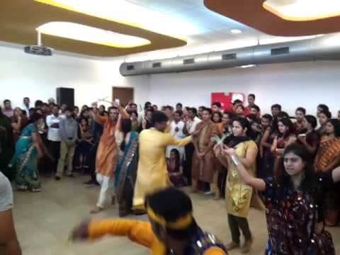 Dandiya competion at Pune Maersk GSC