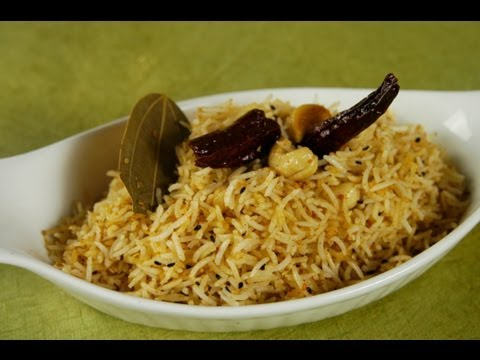 Til Pulao (Sesame Seed Flavored Rice)