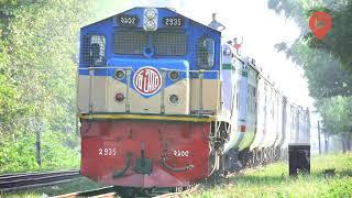 Suborno Express Train Hauled By Korean Made Hyundai Rotem Loco