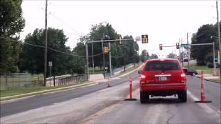 Driving around Tulsa, Oklahoma
