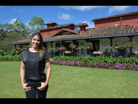 Paula Andrea Betancourt y su casa campestre