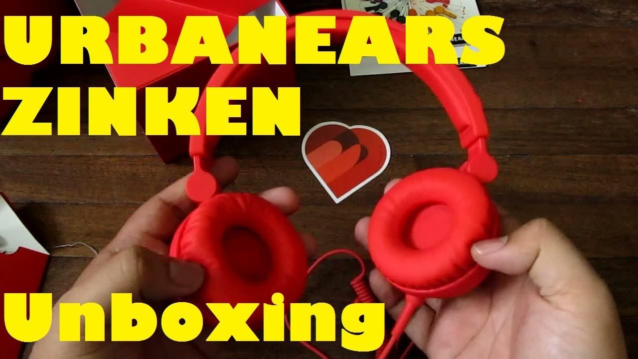 Urbanears Zinken Unboxing