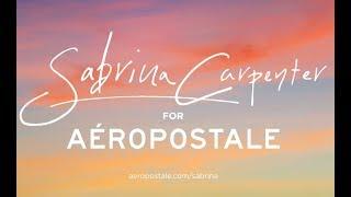 Sabrina Carpenter for Aéropostale