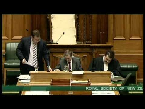 Royal Society of New Zealand Amendment Bill - Committee Stage - Clause 14 - Part 1