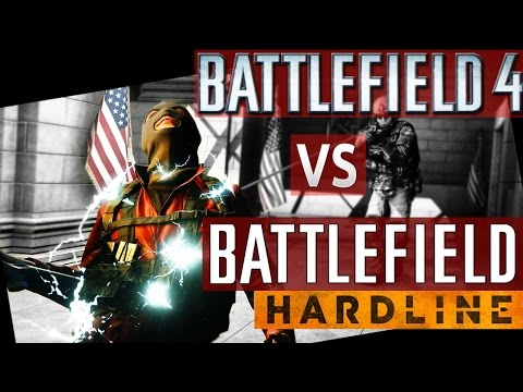 Battlefield Hardline Review & BF4 Hardline Comparison (Battlefield 4 vs BF Hardline Review)