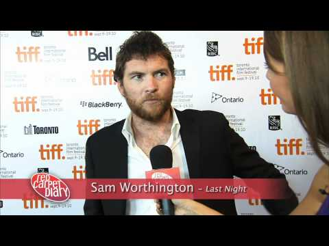 Eva Mendes and Sam Worthington bring 'Last Night' to TIFF