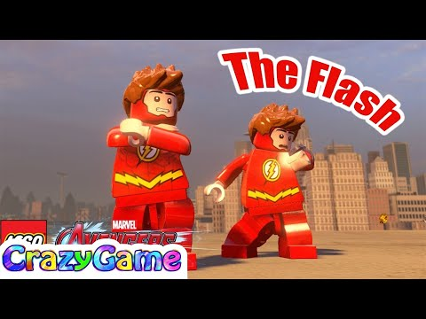 How to Make The Flash in LEGO Marvel's Avengers MOD