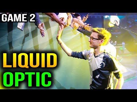 SHIT JUST GOT REAL LIQUID VS OPTIC - ESL One Katowice 2018 - Game 2