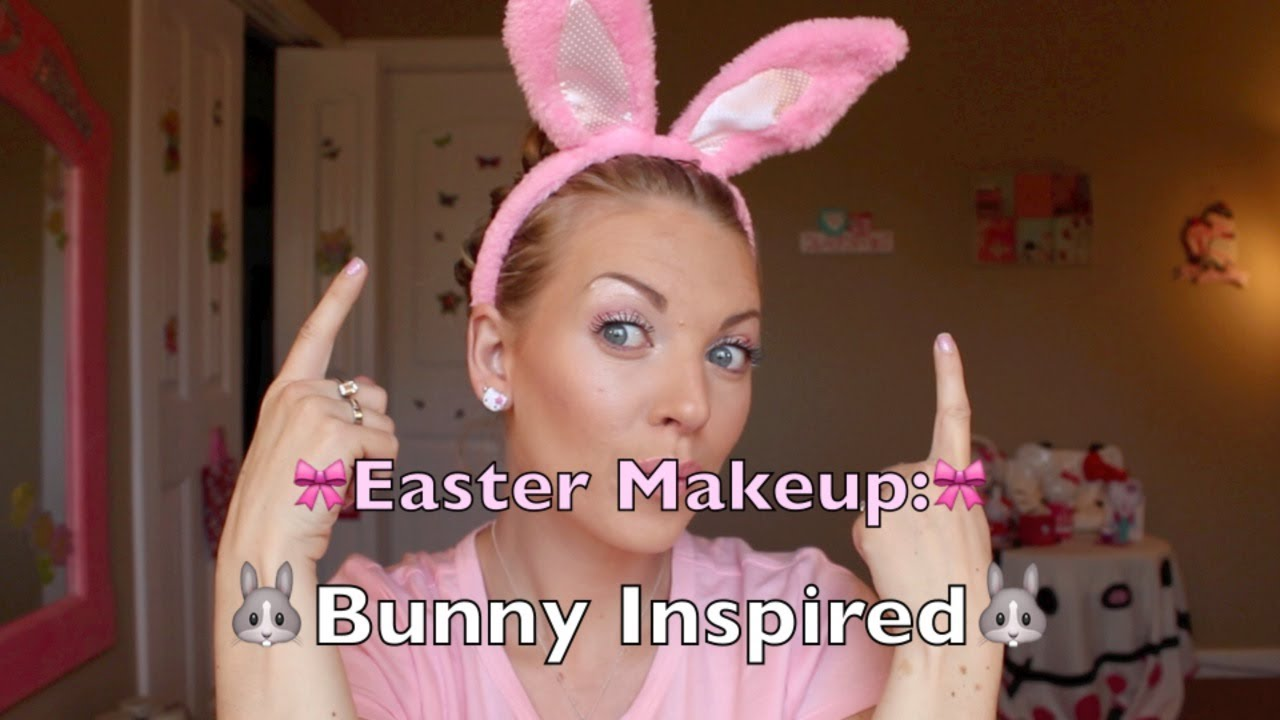 Easter Bunny Inspired Makeup!!!
