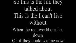 Watch Hinder The Life video