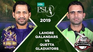 Match 17: Full Match Highlights Lahore Qalandars vs Quetta Gladiators   HBL PSL 4   HBL PSL 2019