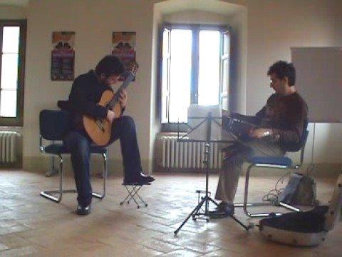 Antonio Mascolo- John W. Duarte- Marco Socias masterclass-Duarte