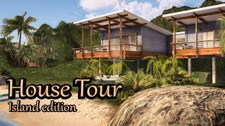 Second Life - House Tour -  Island edition