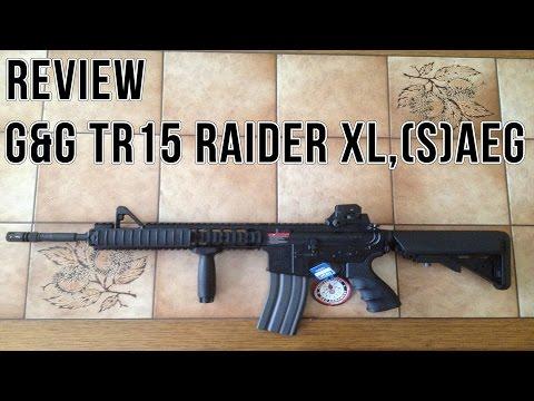 Review G&G TR15 Raider XL, (S)AEG [German/HD]