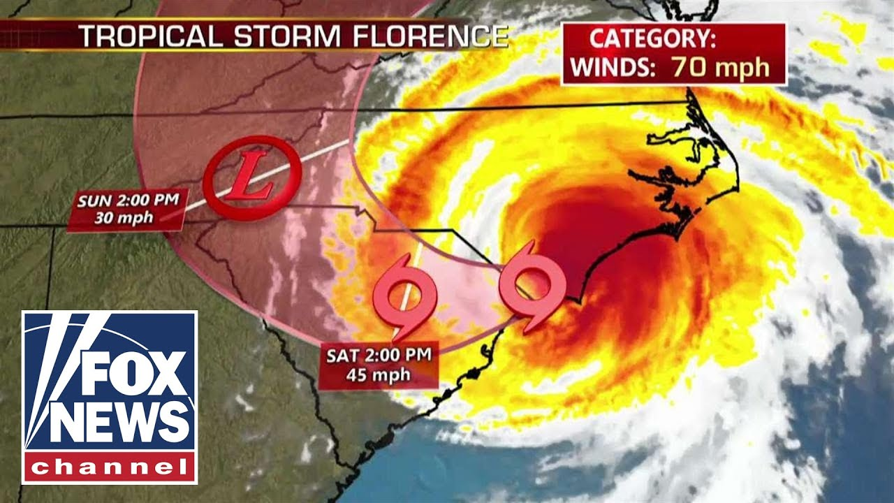 Florence downgraded from hurricane to tropical storm
