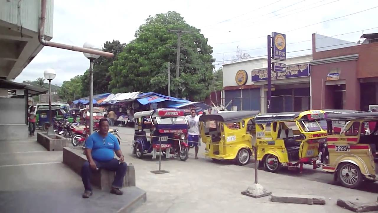 Digos Philippines  City new picture : Digos City Philippines Tricycle ride to Gaisano Mall YouTube