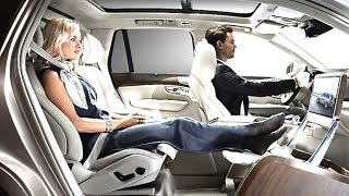 Volvo XC90 Limo INTERIOR Lounge Puts Range Rover On Notice TV Commercial Sexy CARJAM TV HD 2016