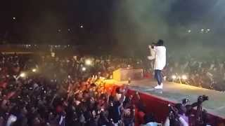 [Ghanamotion.com] Sarkodie performs Revenge of the Spartans inside the Baba Yara Sports Stadium