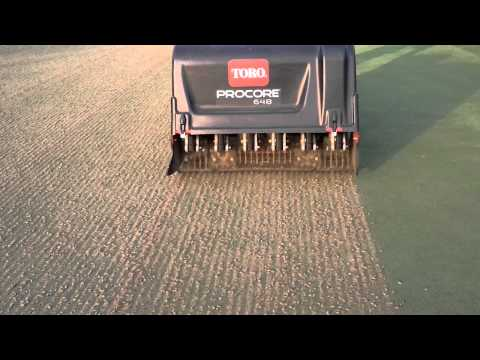 5.8mm side open tine-golfcourse greens aerification