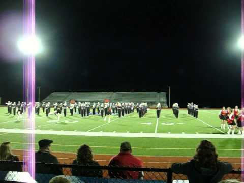 Franklin Area High School - Black Knight Marching Band - Animal (9/14/2013)