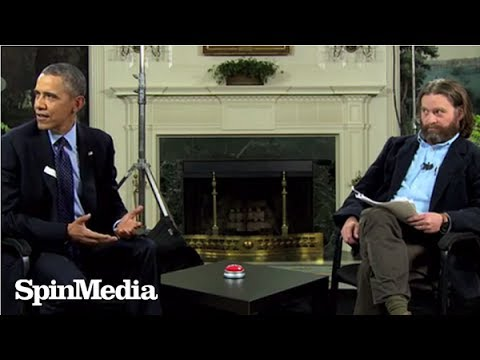 Barack Obama and Zach Galifianakis go head to head on 'Between Two Ferns'