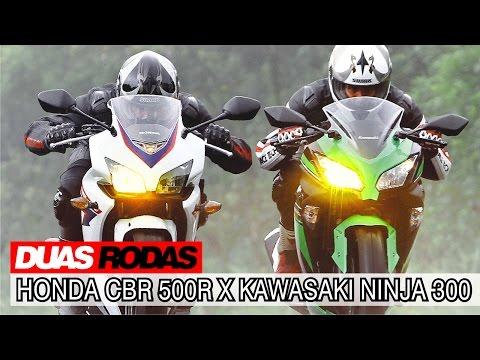 Comparativo: Honda CBR 500R x Kawasaki Ninja 300