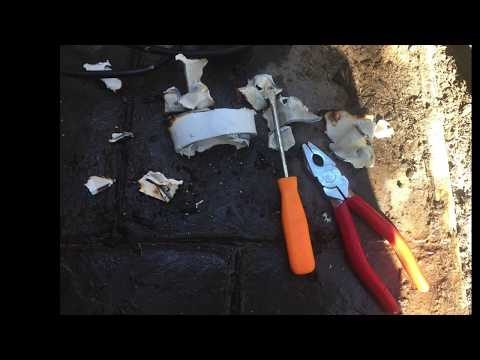How to remove unglue PVC pipe from fitting. Heat burn out pool Spa plastic plumbing remove old pipe.