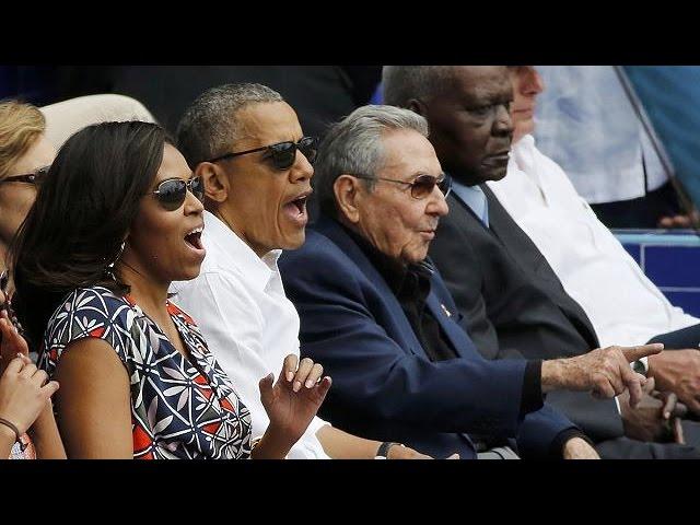 Baseball and diplomacy - Obama ends his landmark trip to Cuba