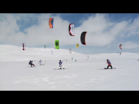 On The Loose - Snowkite Race - Episode 7