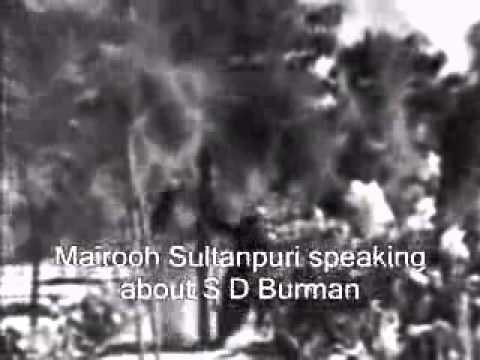 S D Burman-Tribute by Kishore Kumar-part 1