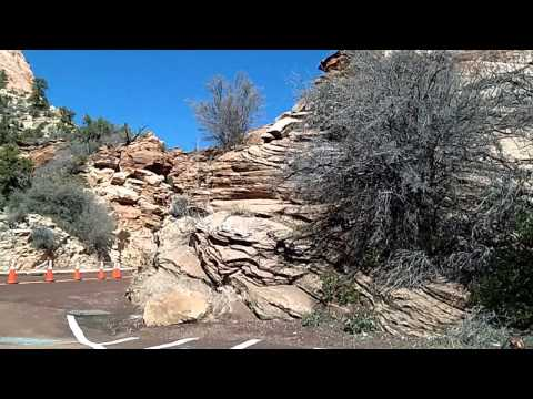 Zion National Park's East Side, Scenic Utah Highway 9 to Mt. Carmel Junction Time Lapse