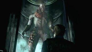 Resident Evil HD Remaster: Tyrant Boss Fight (4K 60fps)
