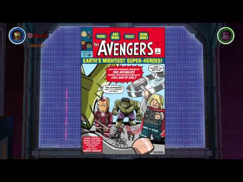 LEGO MARVEL Avengers - All Comic Books Showcase [150/150 Minikits]