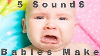 5 Sounds Babies Make | Newborn Cries | HQ
