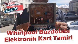 Whirlpool Buzdolabı Elektronik Kart Tamiri - Anakart Tamiri Müşteriden Gelen Yayınla Birlikte.