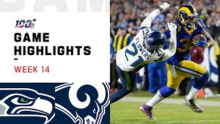 Seahawks vs. Rams Week 14 Highlights | NFL 2019
