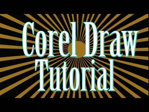 Corel Draw x5 -  Crea Logotipo 3d Desde Cero parte 1