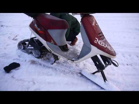 Снегоход своими руками из скутера 871