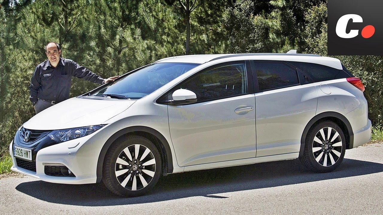 Honda civic tourer prueba coches net test review youtube