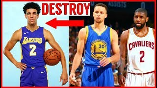Why Steph Curry and Kyrie Irving want to DESTROY LONZO BALL!! Lavar Ball CROSSED THE LINE!!