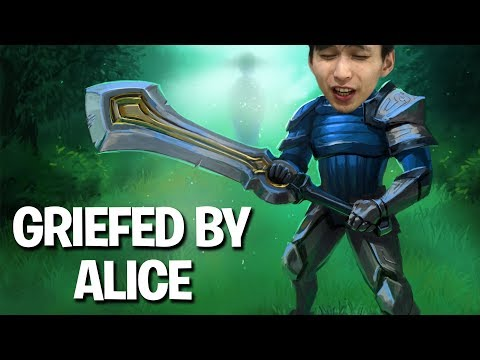 GRIEFED BY ALICE (SingSing Dota 2 Highlights #1155)