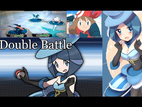 Mansión Batalla Pokémon Rubí Omega Combate Doble Nº20 VÉSPER ES TU ISY