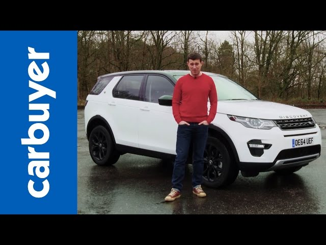 Land Rover Discovery Sport SUV - Carbuyer - YouTube