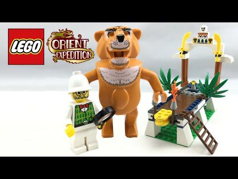 LEGO Adventurers Orient Expedition Tygurah's Roar review! 2003 set 7411!