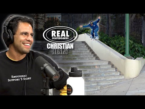 """We Talk About Christian Henry's """"Real Skateboards"""" Part"""