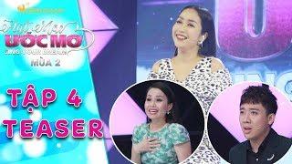 Hát mãi ước mơ 2   teaser tập 4: Ốc Thanh Vân hài hước gọi Trấn Thành là chú, Cẩm Ly là bác