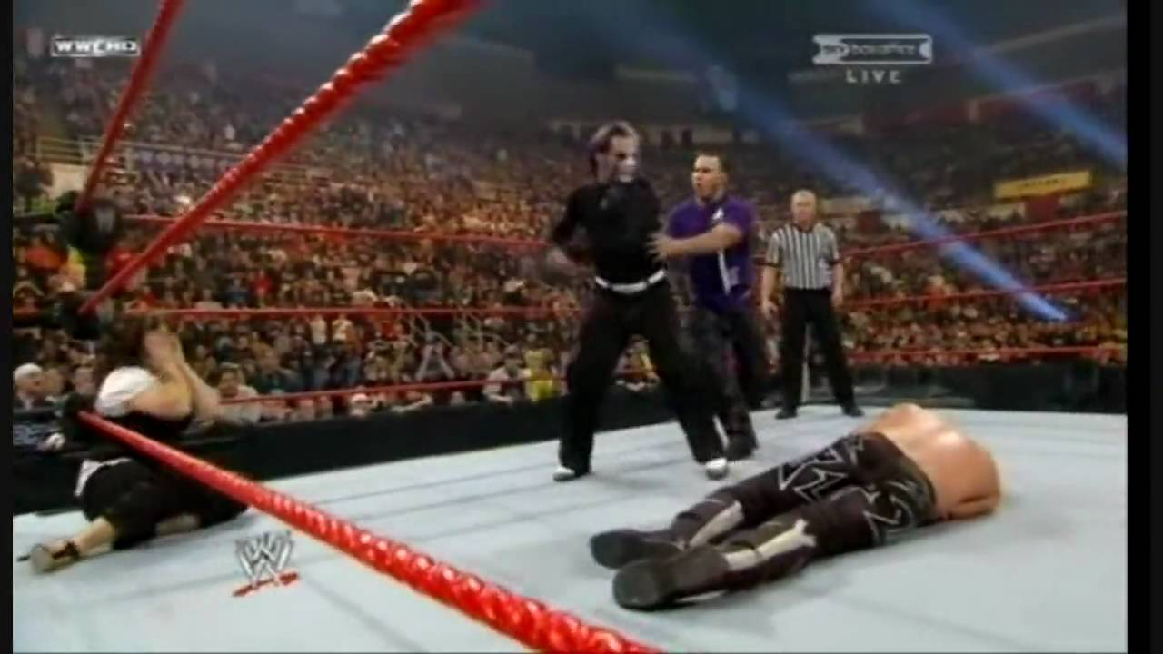 Jeff Hardy vs Edge - Let it Rock - YouTube